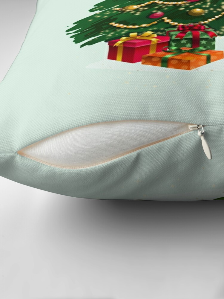 Alternate view of Greetings Fairy Lovers This Is Holly's Magical Fairy Tale Christmas™ Throw Pillow