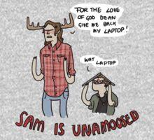 Sam is Unamoosed | Unisex T-Shirt