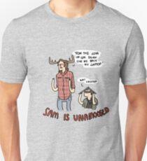 Sam is Unamoosed Unisex T-Shirt