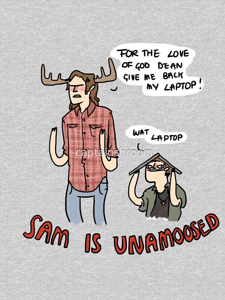 Sam is Unamoosed by captainshroom