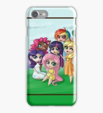 My Little Pony - FiM humanized iPhone Case/Skin