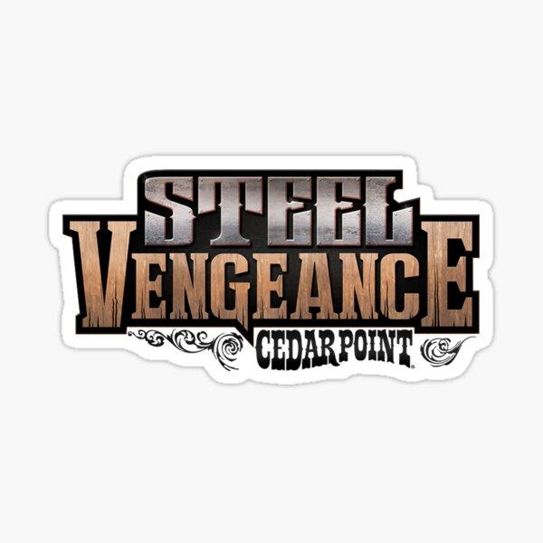 Steel Vengeance Logo Sticker