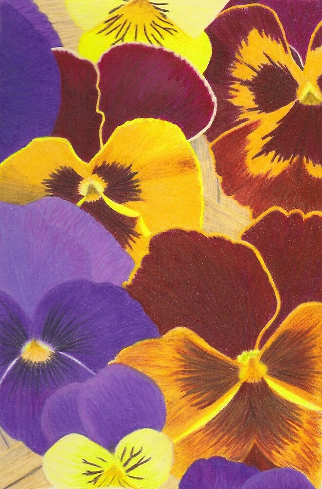 Pansies for Mom by Ahsyla