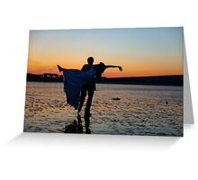 Sunset Celebrations Greeting Card
