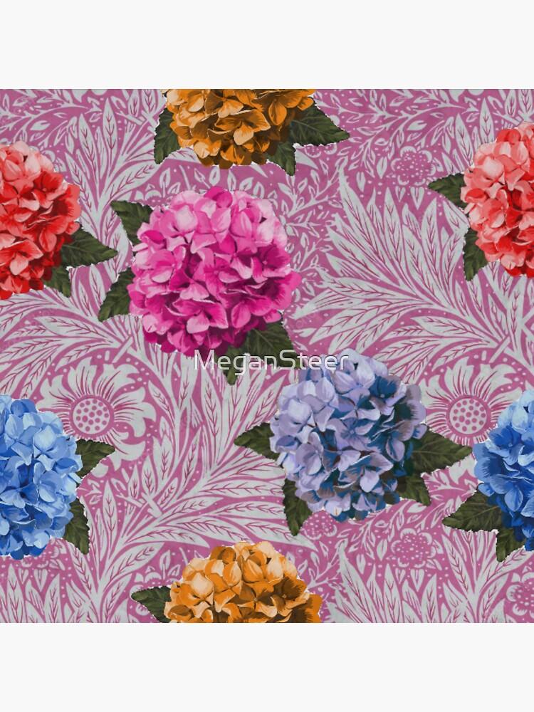 Hydrangea Riot in Pink by MeganSteer