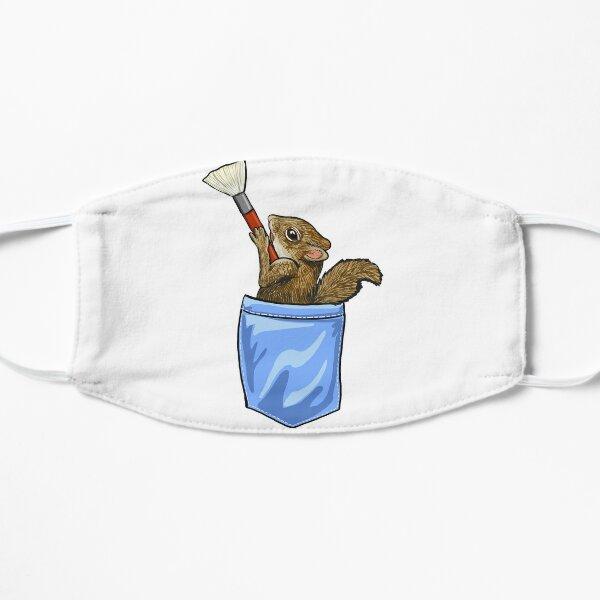 Happy Little Squirrel Flat Mask