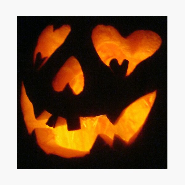 Trick or Treating Photographic Print