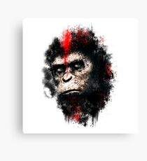 Apes Painting Canvas Print