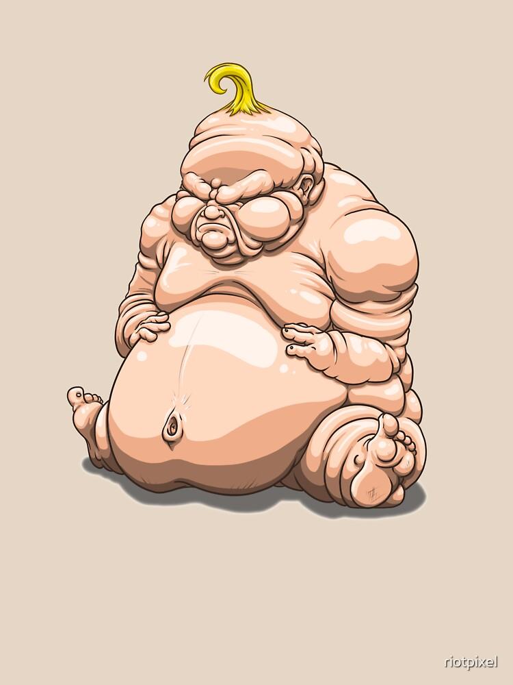 Big Fat Baby by riotpixel