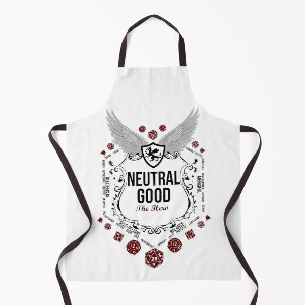 Neutral Good - Black: Alignment Series Apron