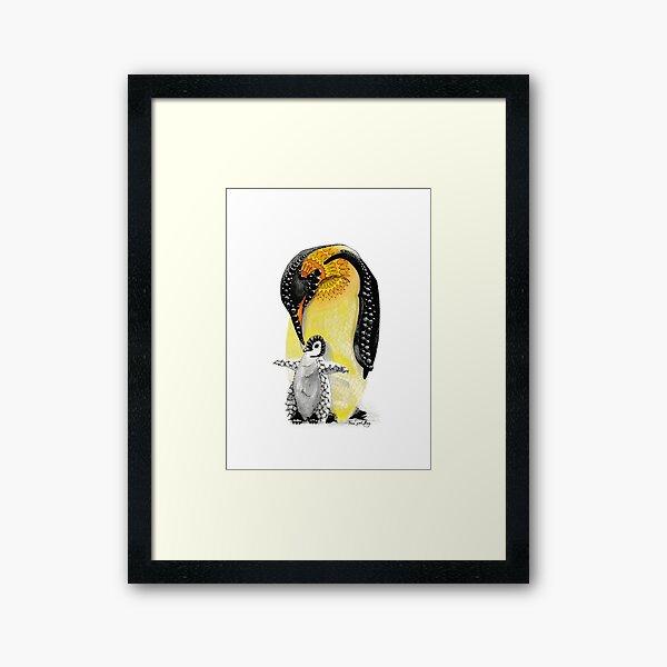 Penguin Totem Animal Framed Art Print