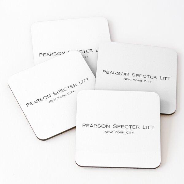 PEARSON SPECTER LITT - SUITS - HARVEY SPECTER  Coasters (Set of 4)