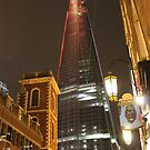 Shard over Southwark by BlackhawkRogue