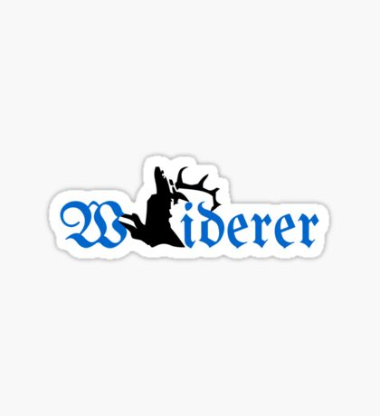 Wuiderer (Poacher) VRS2 Sticker