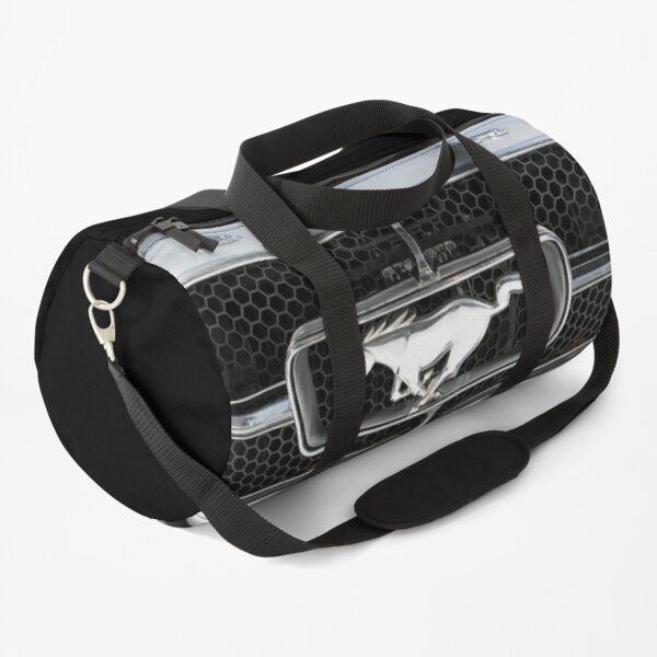 Ford Mustang Grille Badge Duffle Bag