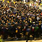 Faculty Recessional at Graduation by Kent Nickell