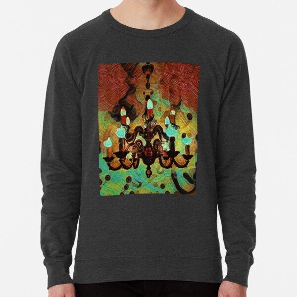 Chandelier Retro Rustic Lightweight Sweatshirt