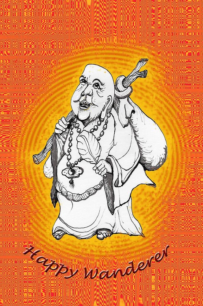 Friendly Happy Buddha * by James Lewis Hamilton