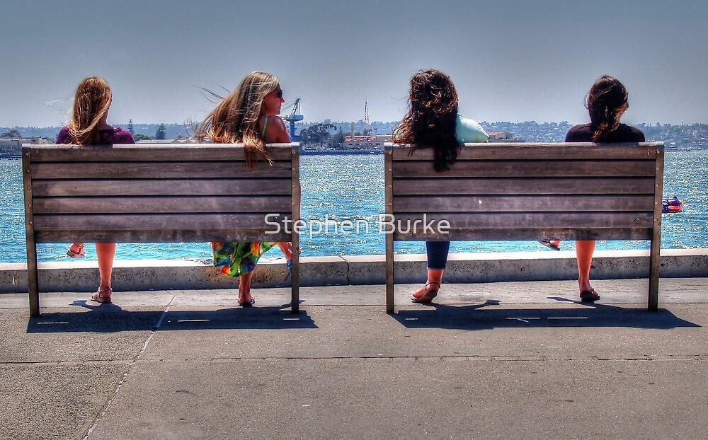 Friends... by Stephen Burke