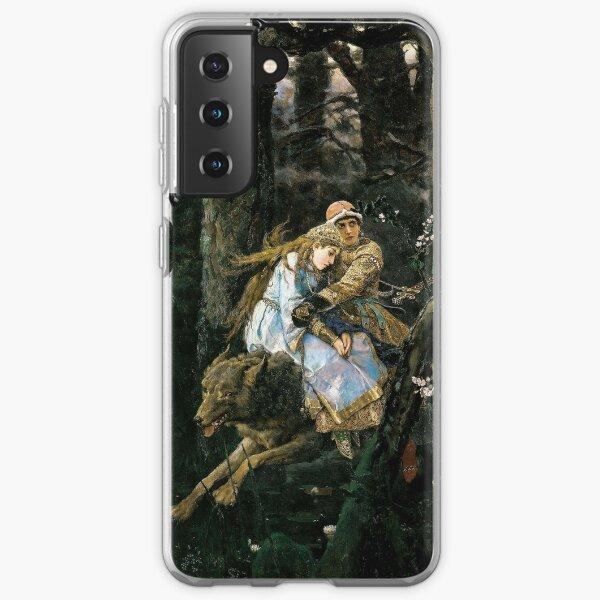 Ivan Tsarevich riding the Gray Wolf - Viktor Vasnetsov Samsung Galaxy Soft Case