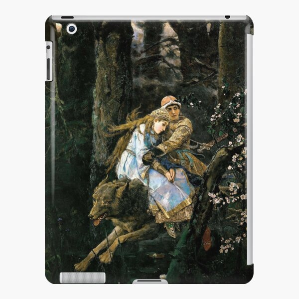 Ivan Tsarevich riding the Gray Wolf - Viktor Vasnetsov iPad Snap Case