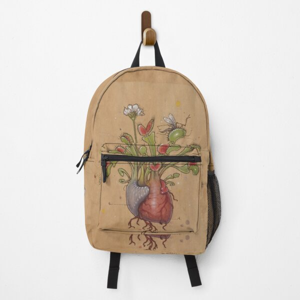 Dionaea Heart (Venus Flytrap) Backpack