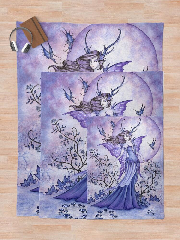 Alternate view of The Night Garden Throw Blanket