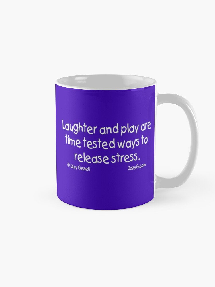 Alternate view of Laughter and Play Mug