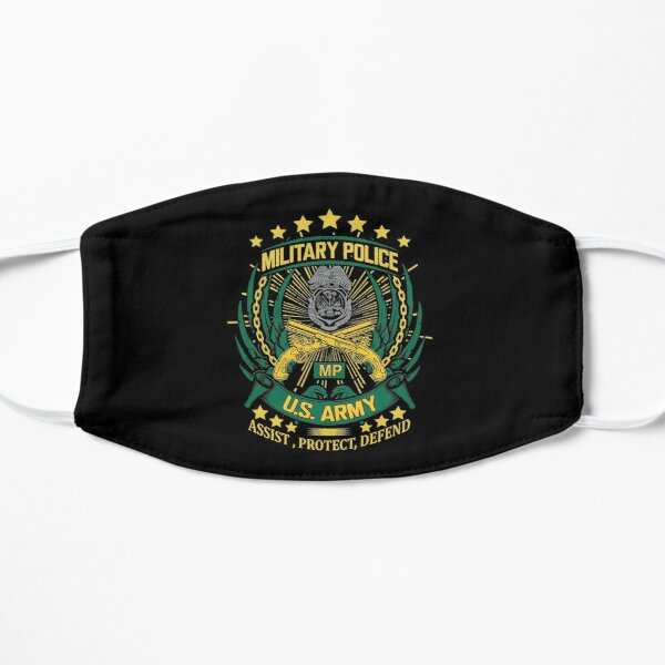 Military Police, Assist, Protect, Defend! Mask