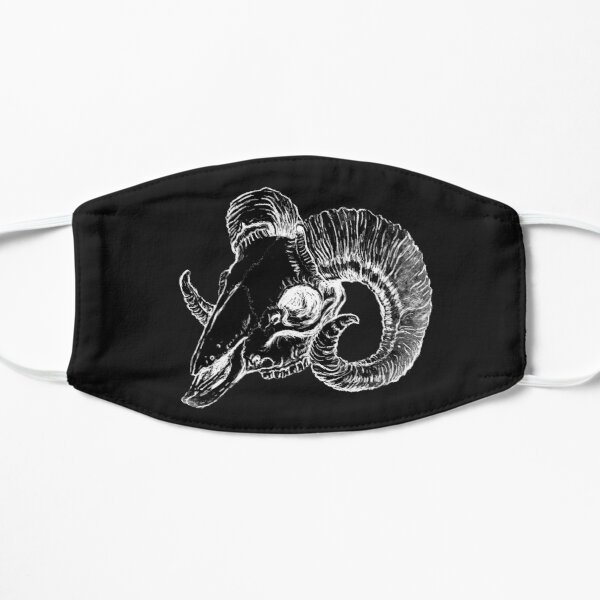 Ram Skull Flat Mask