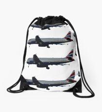 BA A320 Drawstring Bag