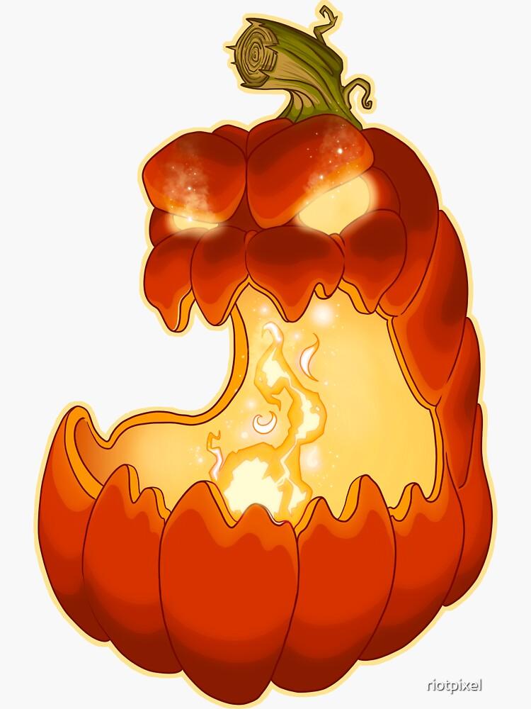 Jack O Lantern Halloween Pumpkin by riotpixel