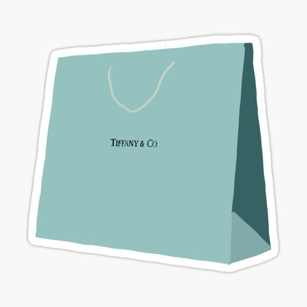 Tiffany Shopping Bag Sticker