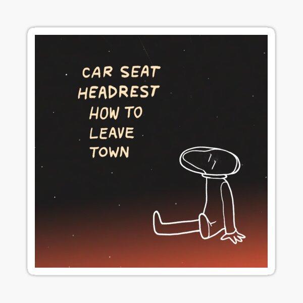 Car Seat Headrest Twin Fantasy Album Art Sticker By Meganwu