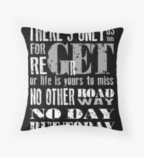 RENT No Day but Today Throw Pillow