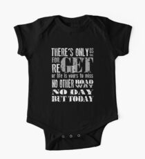 RENT No Day but Today Short Sleeve Baby One-Piece