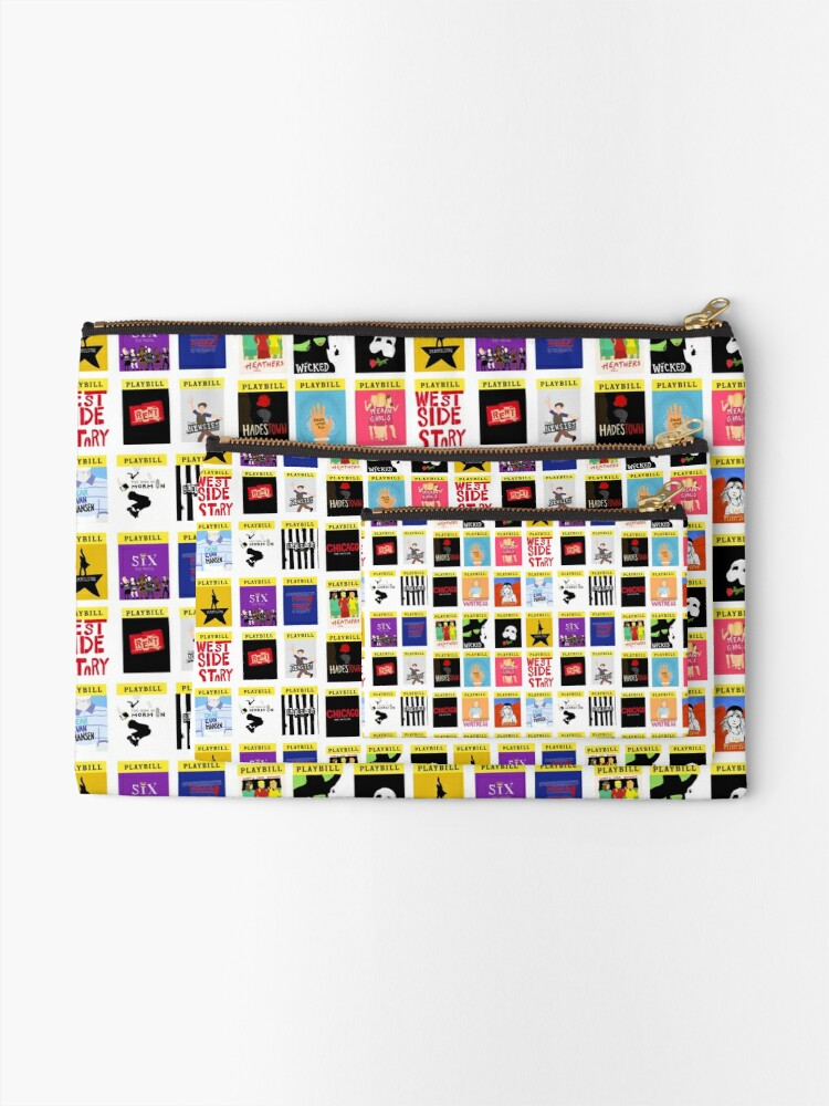 Alternate view of I Like Musicals Zipper Pouch