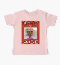 BEAUTY COMES WITH AGE Kids Clothes