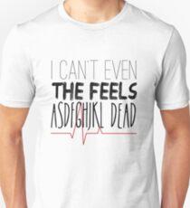 Camiseta unisex No puedo ni siquiera