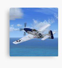 P51 Mustang Canvas Print