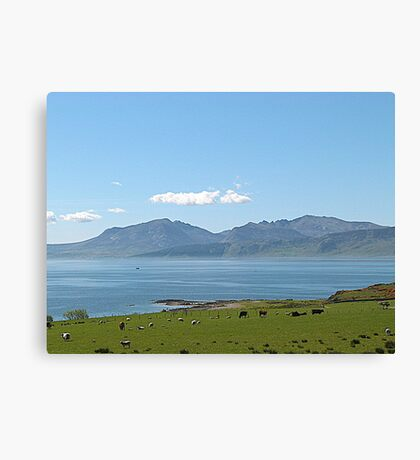 The Isle of Arran. Canvas Print