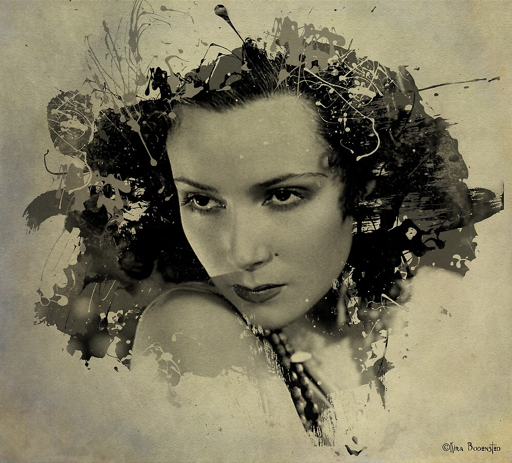 Dolores del Rio by © Kira Bodensted