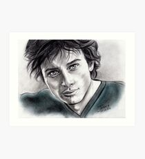Tom Welling Art Print