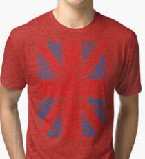 British and Proud Tri-blend T-Shirt