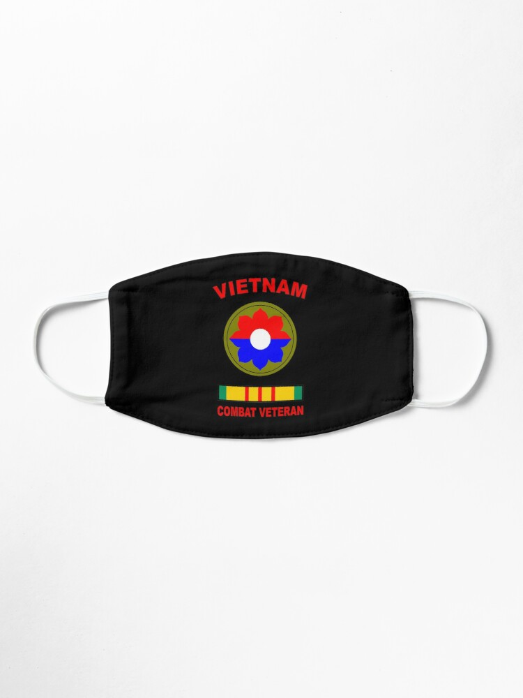 Alternate view of 9th Infantry Division Vietnam Veteran Old Reliables Mask