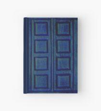 Blaues Buch Notizbuch