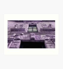 purple house Art Print