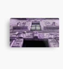 purple house Metal Print