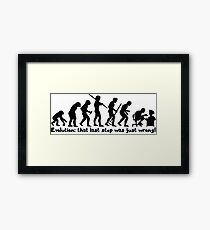 Technology Evolution Framed Print