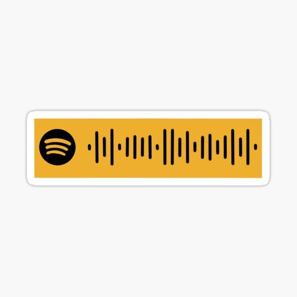 Hamilton Album Spotify Code - Original Broadway Cast Sticker